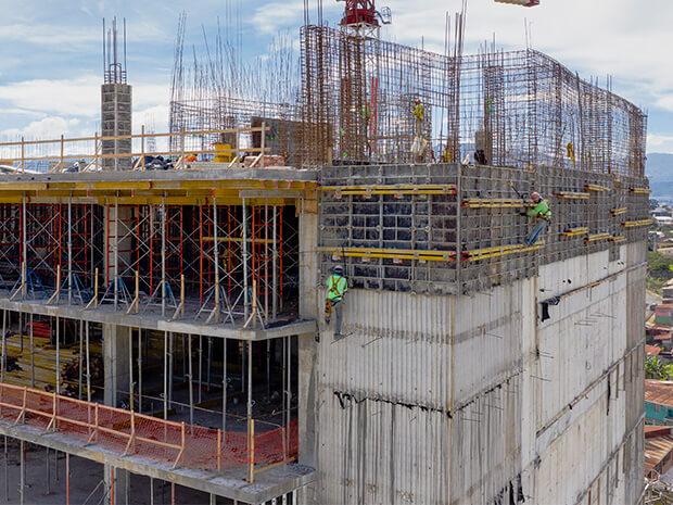 proyecto edificio terra equipos