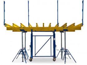 sistema de mesas telescopicas